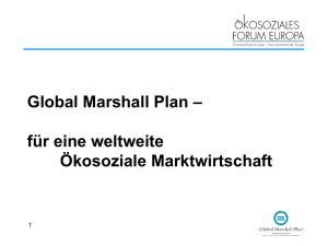 Global Marshall Plan