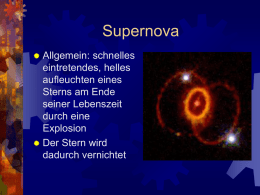Supernova - Lutz Siebert