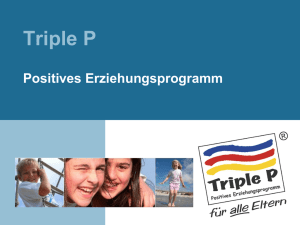 Was ist Triple P?