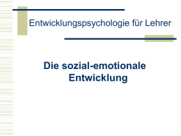 Emotionsregulation