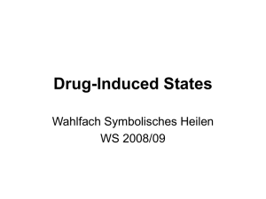 Drug-Induced States