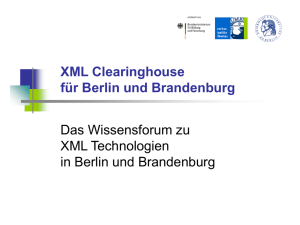 XML Clearinghouse