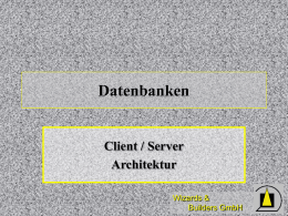 Client / Server Architektur - dFPUG
