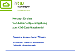 Kein Folientitel - WWW-Docs for TU