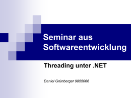 Ein Thread - System Software