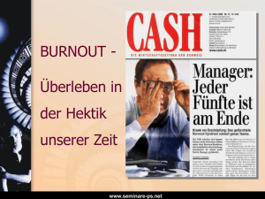 Burnout im Management