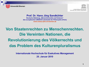 PowerPoint-Präsentation - UNESCO