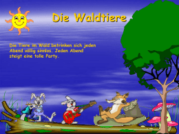 Waldtiere.pps - PC Doktor Coburg