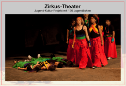 Zirkus-Theater - Christoph-Scheiner