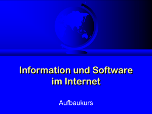 Informationen und Software