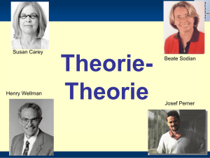 Theorie-Theorie-ppt