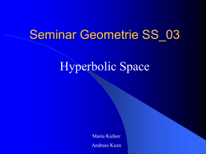 Hyperbolic Space