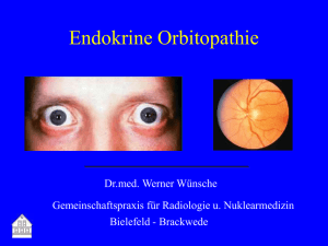 Endokrine Orbitopathie