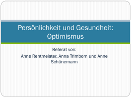 Referat Optimismus-neu