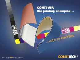 ContiTech ElastomerCoatings – PMS Drucktuch