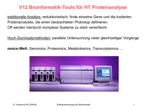 SW-V12-Proteomics - Chair of Computational Biology