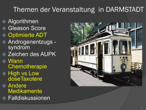 TOPICS of PRESENTATION in DARMSTADT