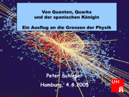 University of Hamburg Institute for Experimental Physics