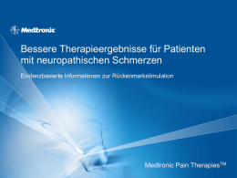 SCS bei Failed Back Surgery Syndrom – PROCESS Studie