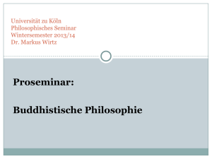 PS Buddhistische Philosophie