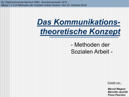 3-Kommunikt-Th Referat aktuell - Supervision