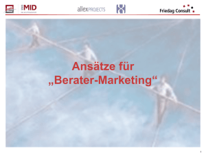 Berater-Marketing
