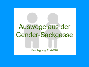 gender - Hauskirche