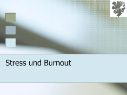 Burnout - Ihre Homepage bei Arcor
