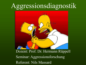 Aggressionsdiagnostik - UK