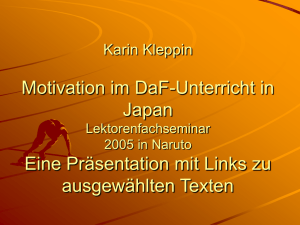 Karin Kleppin Motivation – nur ein Mythos?