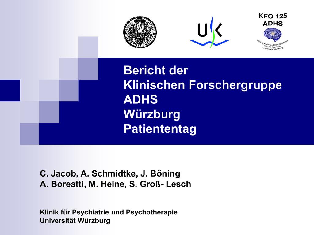 Powerpoint Prasentation Universitatsklinikum Wurzburg