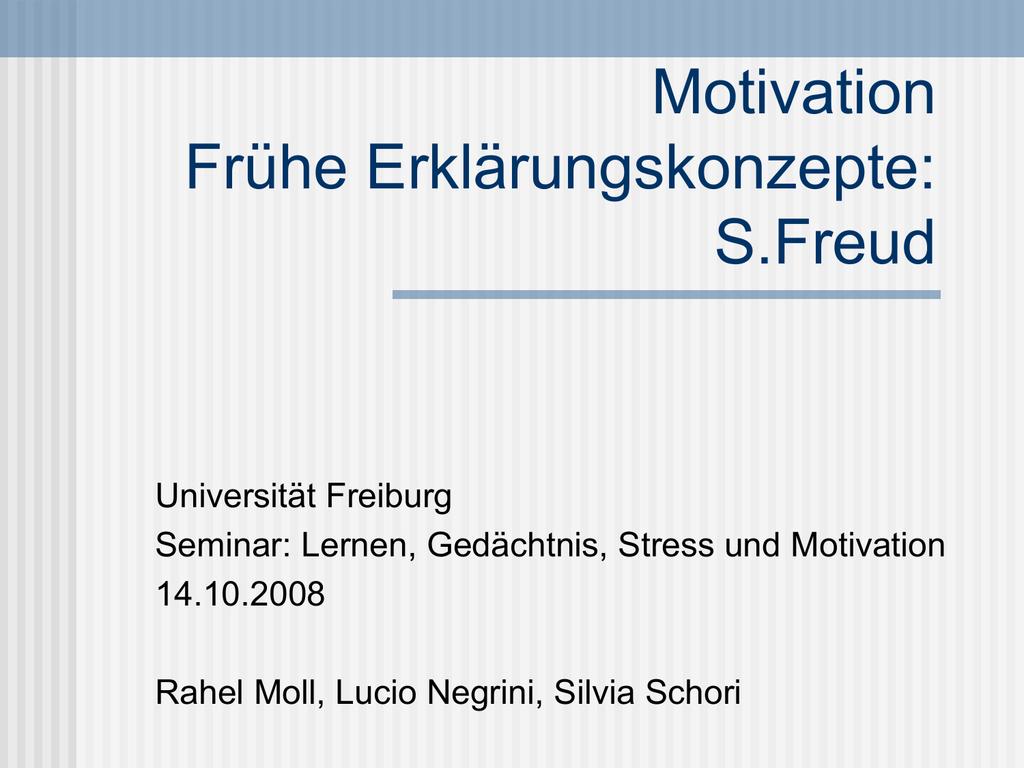 Abwehrmechanismen Freud Beispiele sigmund freud
