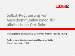ICAP Alkohol Leitlinien November 2011