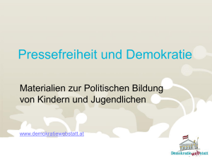 Folie 1 - DemokratieWEBstatt