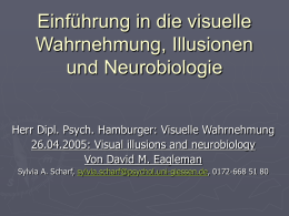 Illusionen und Neurobiologie