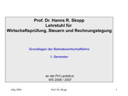 PowerPoint-Präsentation - prof