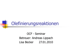 Lisa Becker Olefinierungsreaktionen 2 03