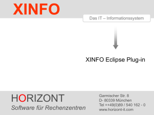 XINFO - Eclipse Plugin.pps