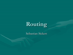 Routing - Clip2Net