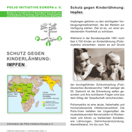 Impf-Flyer - Polio Initiative Europa eV