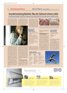Flexibilität - Dental Tribune