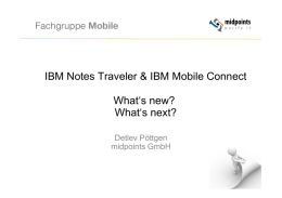 IBM Notes Traveler