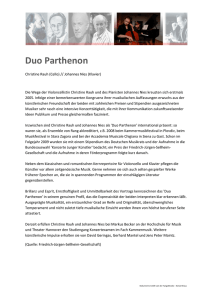 Duo Parthenon