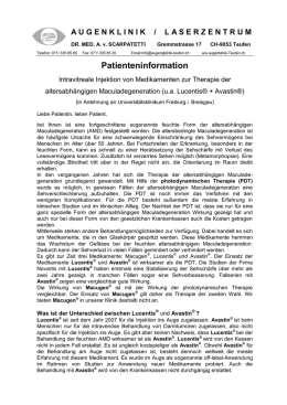 Patienteninformation