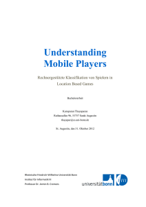 Understanding Mobile Players - SAM