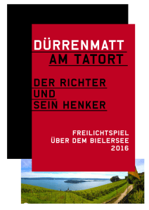 Dürrenmatt am Tatort