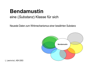 Bendamustin - NHL-info