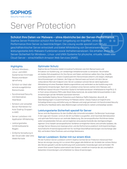 Server Protection