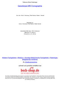 Ganzkörper-MR-Tomographie - ReadingSample - Beck-Shop