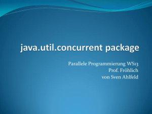 Java Util Concurrency